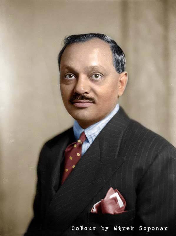 Jam sahib Digvijaysinhji (1895-1966) był arystokratą indyjskim, maharadżą północno-zachodniego indyjskiego księstwa Nawanagarui…