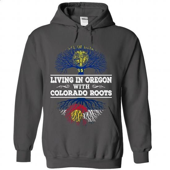 Living in Oregon with Colorado Roots - #polo #hooded sweatshirts. BUY NOW =>…