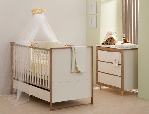 Łóżeczko 60x120 z kolekcji mebli dla dzieci Simple