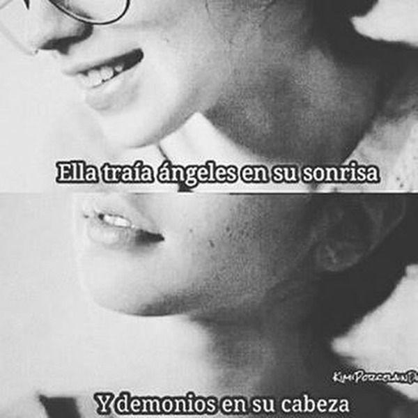 Ella Traía Ángeles En Su Sonrisa,  Y Demonios En Su Cabeza..