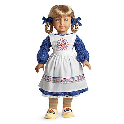 Kirsten, along with Sam and Molly are clearly the most popular historical American Girl dolls and so few items have been retired. Description from curtdanhauser.com. I searched for this on bing.com/images