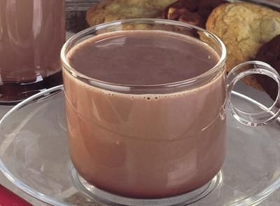 Hershey's real Hot Cocoa - not that powdered mix crap