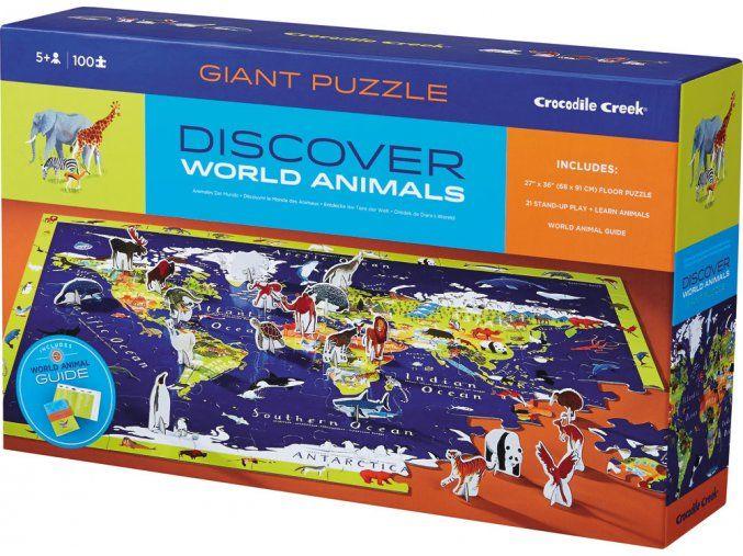 Discovery Puzzle - svět / world