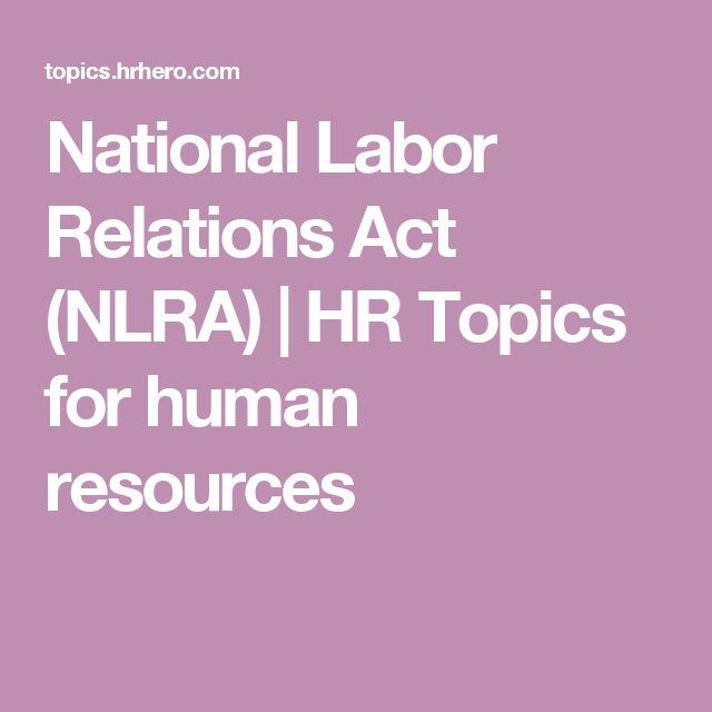 17 beste ideer om National Labor Relations Act på Pinterest Politikk - hr confidentiality agreements