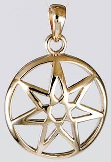 13 best wicca images on pinterest wicca wiccan and celtic knot large seven pointed fairy star pendant sterling silver fae fandeluxe Images