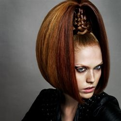 British Hairdressing Awards Winners  Avant Garde Hairdresser of the Year:  James Rowe Kontakt, London