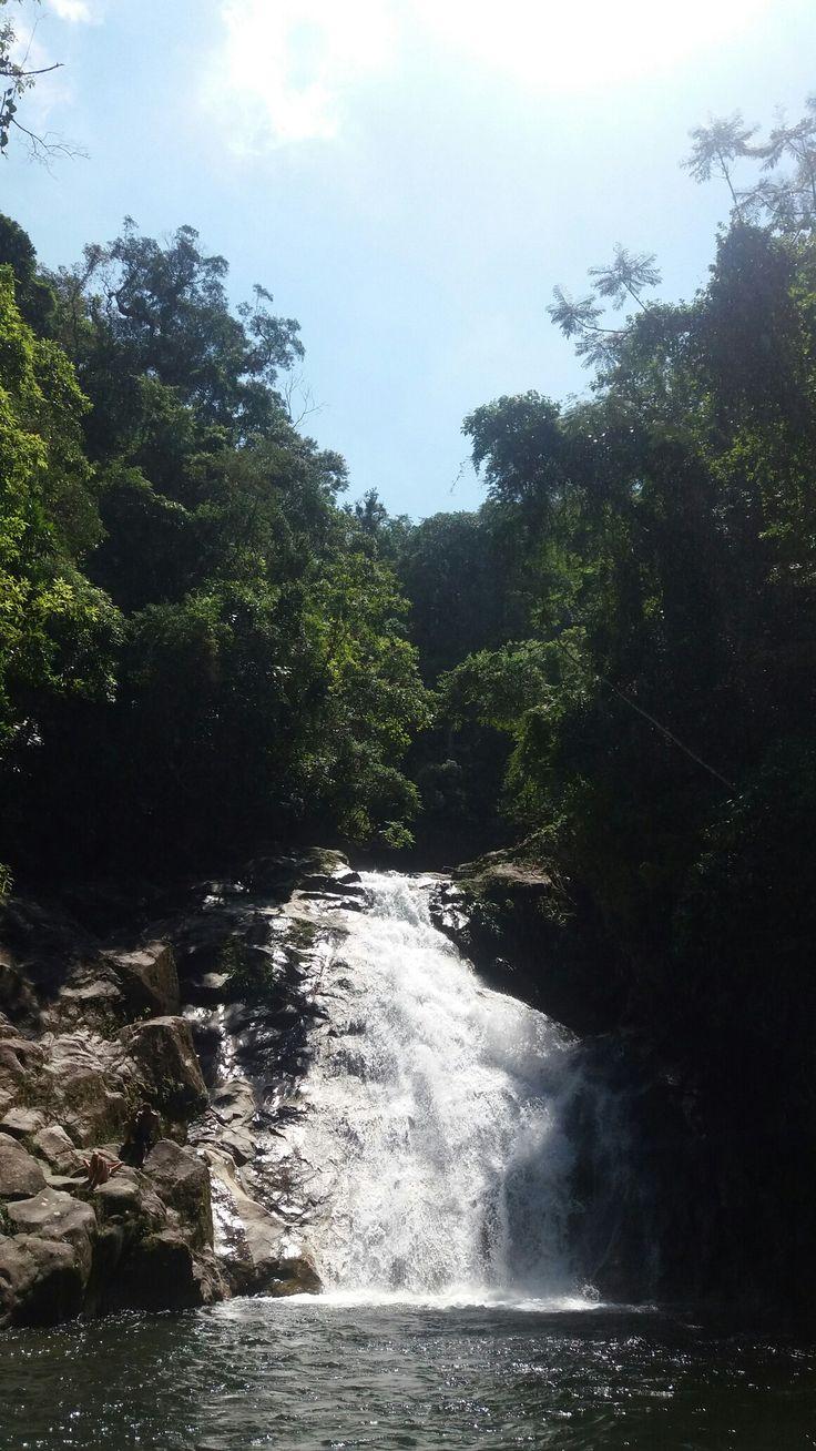 Cachoeira Boiçucanga....terceira queda