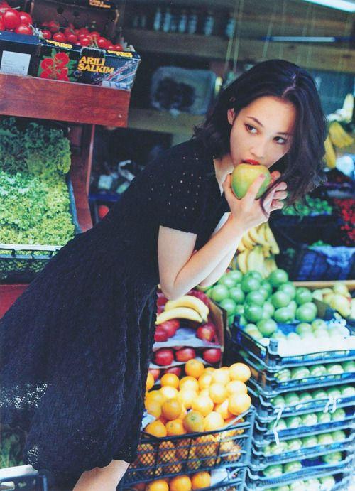 Kiko Mizuhara for Sweet Magazine.