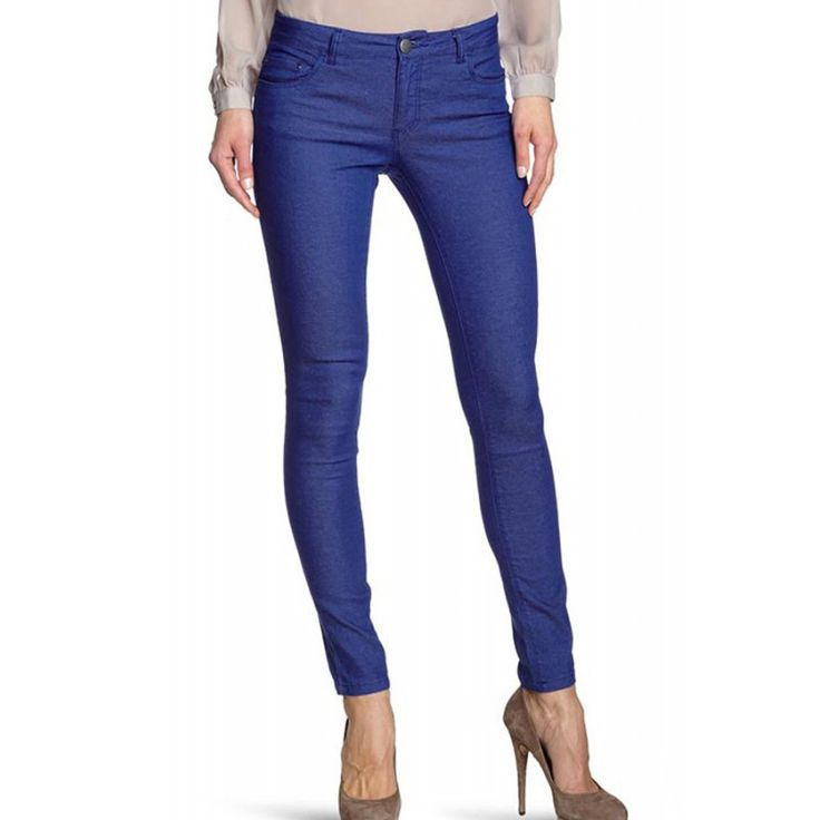 Blugi Dama ONLY Skinny Regular Ultimate Mazarine Blue