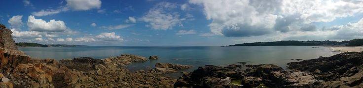 #Wales #Saundersfoot #Panoramic #Beach #Photography #Travel
