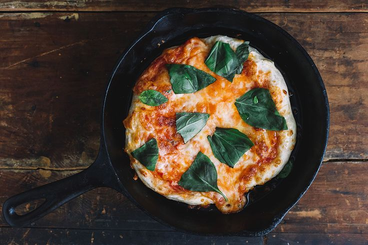 Simple, delicious and comforting, traditional Margherita pizza is made vegan thanks to this tasty, cheese-less recipe.