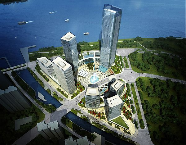 Pazhou district of the Guangzhou province of China is soon going to be one of the most ultra modern cities of the world. The district is situated on the delta of Pearl River and is the biggest city in the province. A prominent site in the district will so