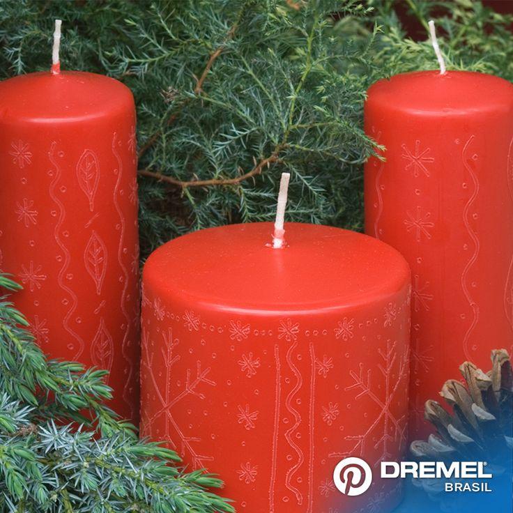 Este tipo de técnica pode ser realizada em outros materiais como: couro, plástico, vidro, metais, madeira, acrílico e cerâmica utilizando o Dremel gravador ou uma rotativa Dremel 3000/4000 e os acessórios para gravação.