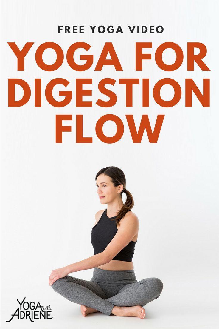 Yoga For Digestion Adriene