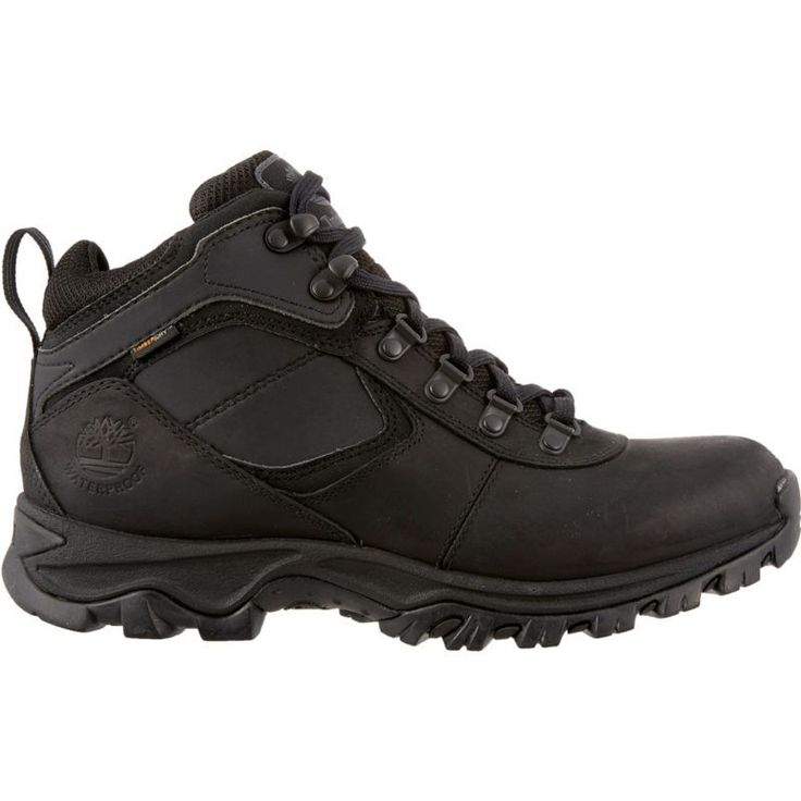 Timberland Men's Earthkeepers Mt. Maddsen Mid Waterproof Hiking Boots, Size: 11.5MEDIUM, Black