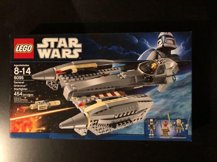 Lego Star Wars 8095 General Grievous' Starfighter Brand New Sealed Retired