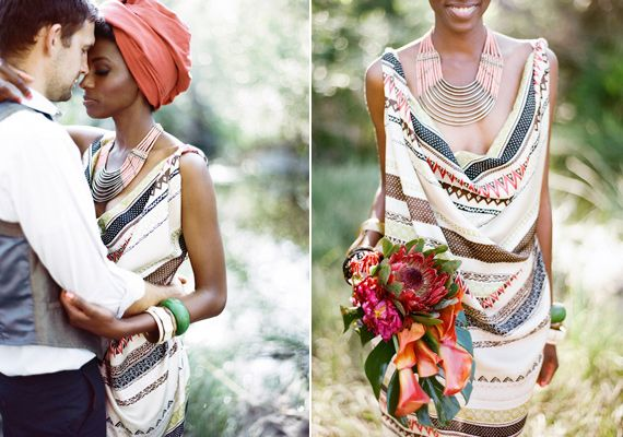 African wedding inspiration | photo by Ashley Kelemen | styling by Thorne Artistry | 100 Layer Cake