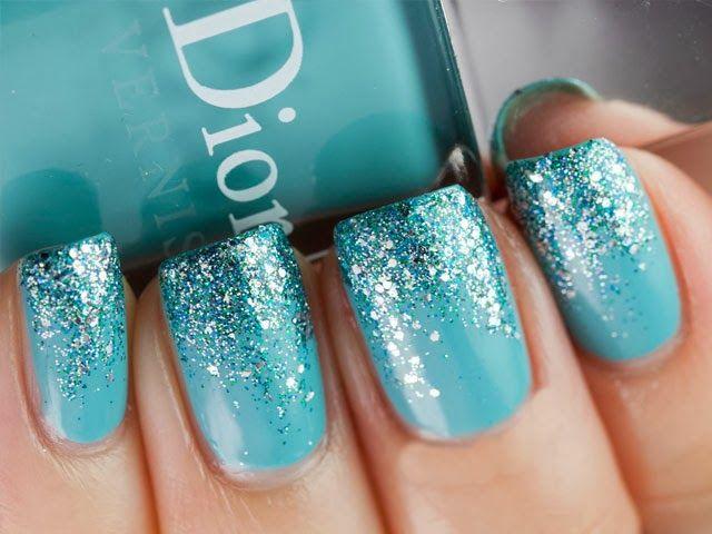Dior baby blue sparkle