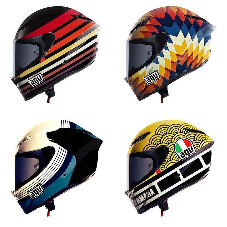 Cool motorcycle helmet design