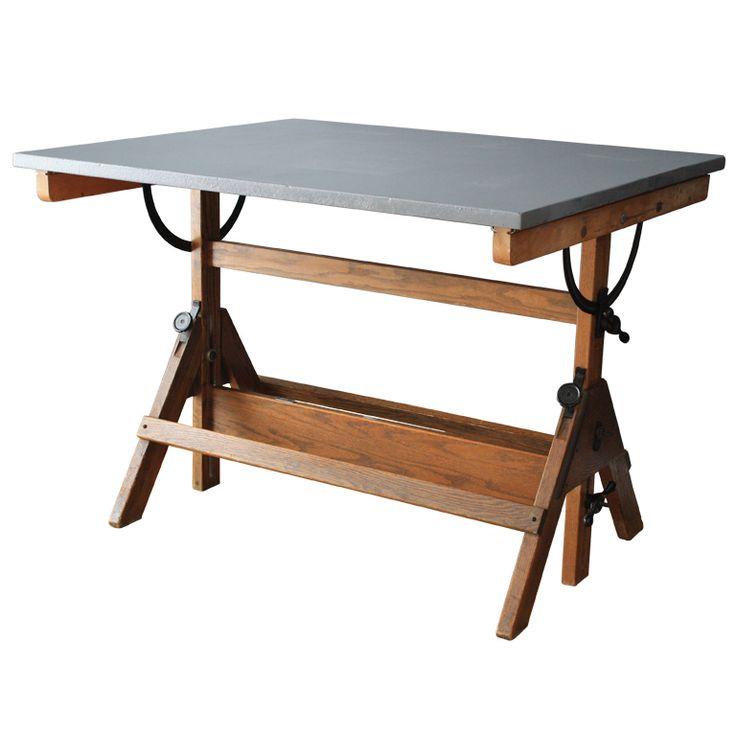 vintage drafting table - Drafting Tables