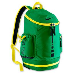 GREEN NIKE ELITE BOOKBAG
