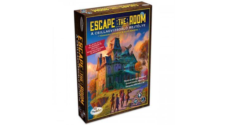 Escape the Room - A csillagvizsgáló rejtélye - ÚJDONSÁGOK - Fejlesztő játékok az Okosodjvelünk webáruházban