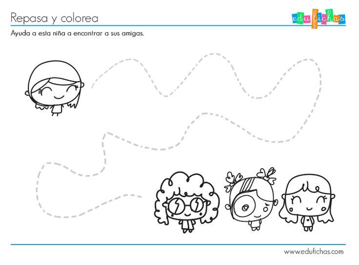 Dibujos Para Colorear Niños De Tres Años ~ Ideas Creativas Sobre ...