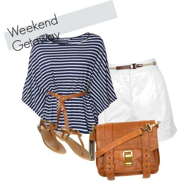 weekend getaway, created by nicki-ryder-simmons on Polyvore