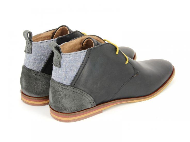 Inside | Schmoove - Swan Desert Black Grey | Magasin de vêtement, vente en ligne chaussure
