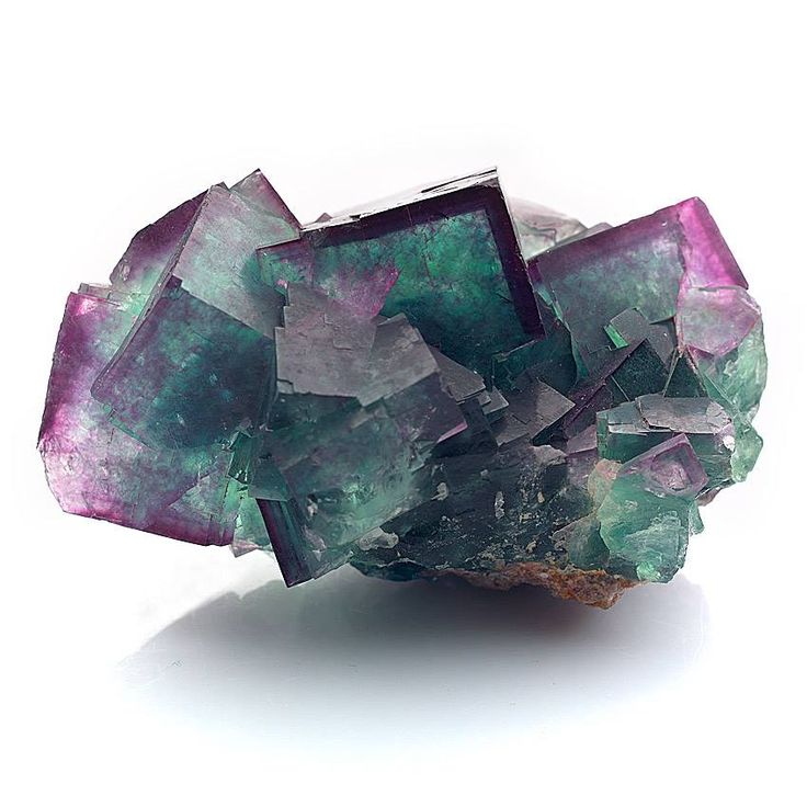 Fluorite --- Okoruso Mine, Otjiwarongo District, Namibia