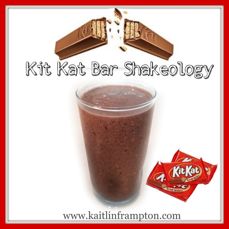 RECIPE AT:  www.kaitlinframpton.com Get Shakeology SAMPLE: kmsframpton@gmail.com  This tastes JUST like a KIT KAT BAR it is AMAZZZZINGGGG!!!  Not only that, but it has super nutrients like ASHWAGANDA in it that helps protect your body against DAILY *STREST* and boosts your immune system, and helps to lower blood pressure!