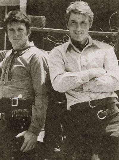 The Lancer brothers, Johnny and Scott... I watched the show faithfully week after week from 1968-1970. Brings back such good memories. Loved those old tv westerns.