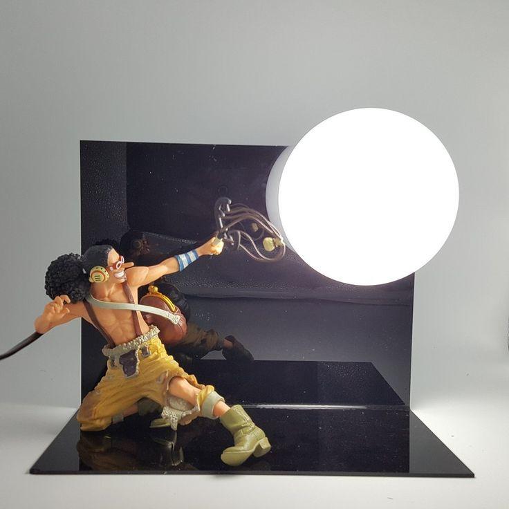One piece usopp sogeking figure state diy lamp diy lamp