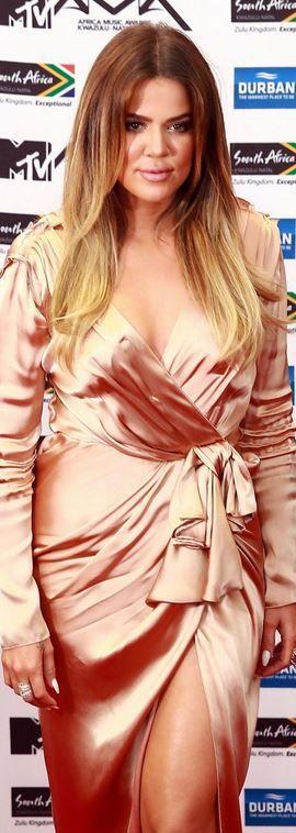 Khloe Kardashian jn Lanvin