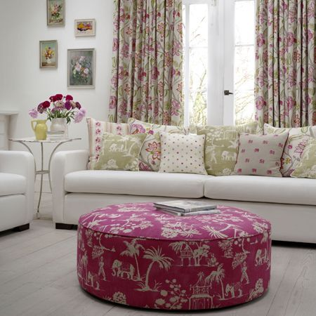 Indienne Collection from Clarke & Clarke #fabric #curtains #clarkeandclarke