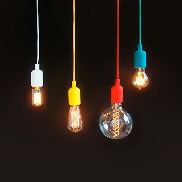 25 melhores ideias de ilumina o edison no pinterest