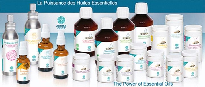 Produits Aroma Celte®