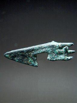 Όστρακο Αρχαία Τέχνη, Σπάνιες Μινιατούρα Αναθηματικό Axe Head, Luristan, ca…