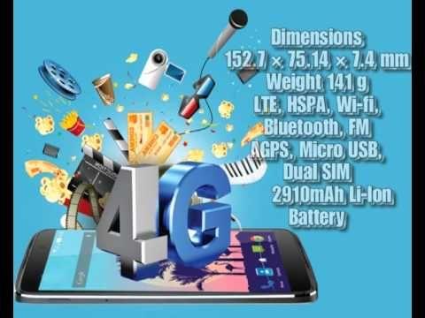 Panasonic Eluga Switch with 2910 mAh Battery
