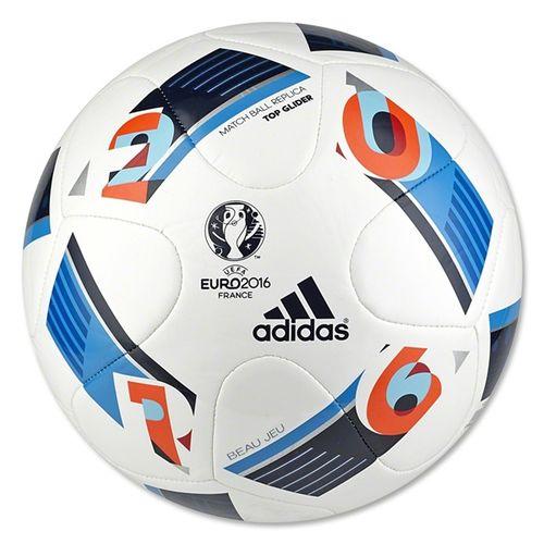 adidas Euro 2016 Top Glider Ball White
