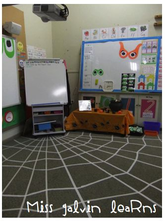 Halloween-Spiderweb2011 LOVE this idea! Thanks Miss Galvin Learns!