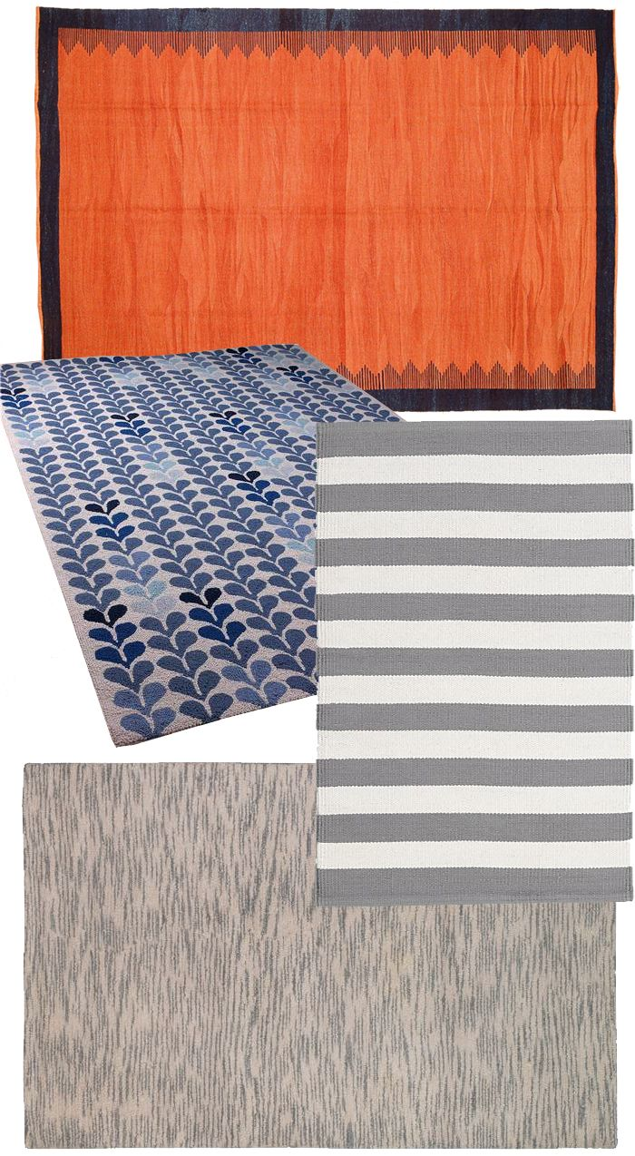 Inexpensive Rugs Via Shades Of Light, Etsy, Crate U0026 Barrel, And DwellStudio