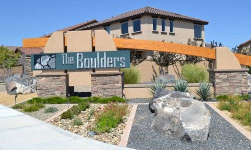 The Boulders Entry Sign