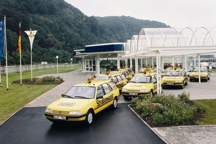 Peugeot 405 ADAC Strassenwacht / Einsatzwagen / Pannenfahrzeuge gefunden im Web
