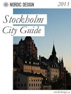 NordicDesign Stockholm City Guide 2013