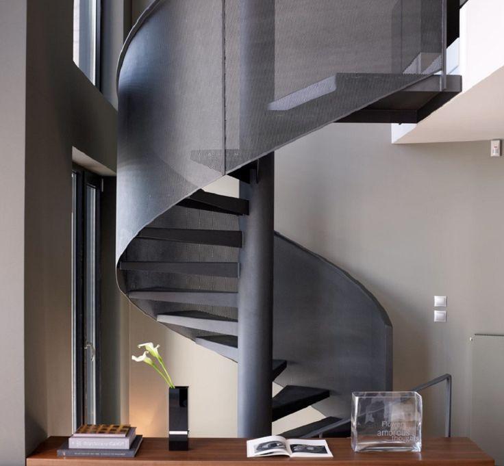 Schody spiralne – galeria inspiracji