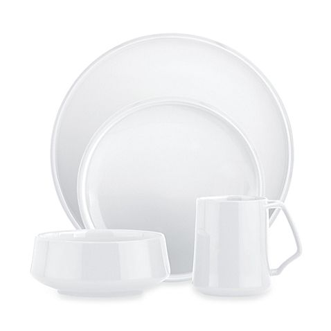 This Kobenstyle dinnerware is a unique blend of exquisite styling and practical functionality. These pieces feature a beautiful bright white surface which makes an exciting presentation for any table setting.