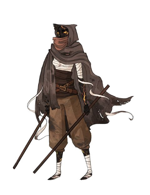 Or it's not a coveted boy but a cursed girl. Broken black skin that courses fire in her veins. Has two swords, pure black face, no hair, glowing eyes. Seeking to stop curse.