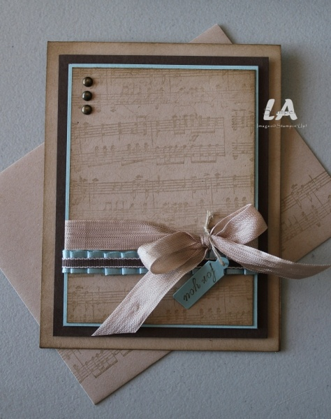 See the envelope and the multiple uses of ribbon.