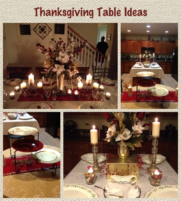 Beautiful Classic Thanksgiving Table Decorating Ideas